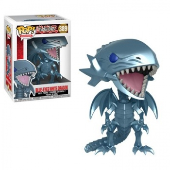 Funko POP! Yu-Gi-Oh! - Blue Eyes White Dragon Vinyl Figure 10cm