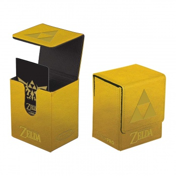 UP - The Legend of Zelda: Tri-Force Flip Box - Gold