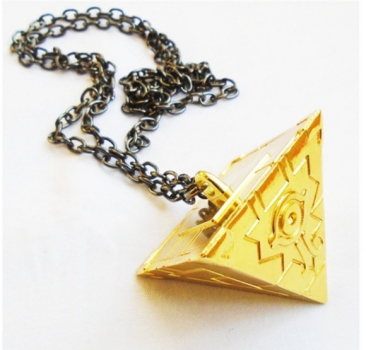 Yugi's Milleniums Puzzel Anhänger - Pyramide mit Horus Auge