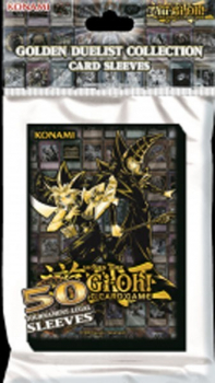 YU-GI-OH! GOLDEN DUELISTS CARD SLEEVES (50 CT.)