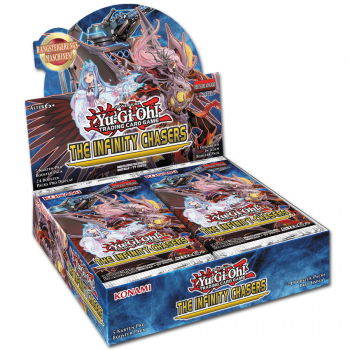 YU-GI-OH ! THE INFINITY CHASERS BOOSTER Display (DE)